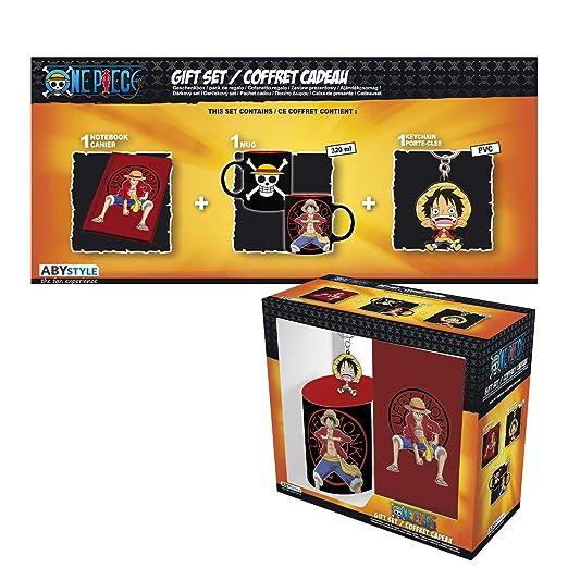 ABYstyle - One Piece - Caja de Regalo Luffy - Taza 320ml + ...