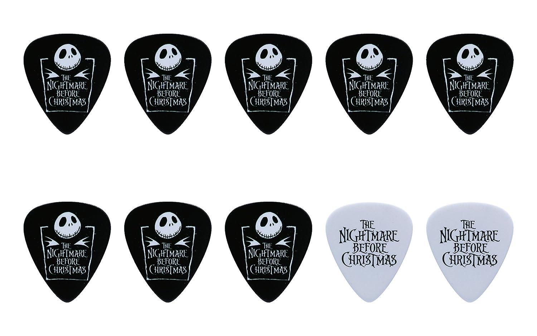 Amazon.com: The Nightmare Before Christmas Guitar Pick Set (10pcs ...