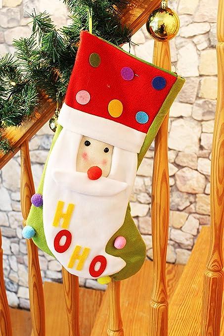Kamaca nikolausstrumpf/calcetín de Navidad/Botas de Papá Noel/calcetines de Papá Noel