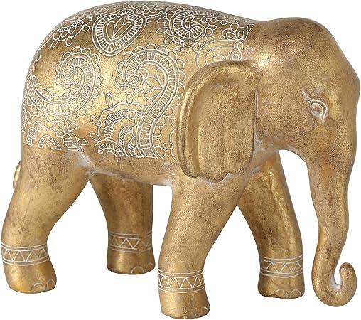 Statuetta ornamentale a forma di elefante in argento The Leonardo Collection