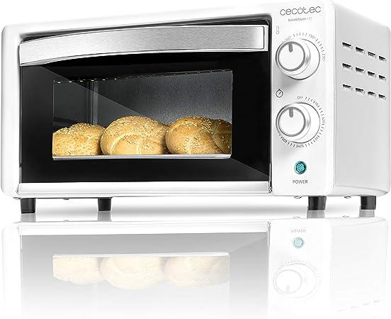 Mini Four Électrique Cecotec Bake/'n Toast 1000W-Couleur-Blanc