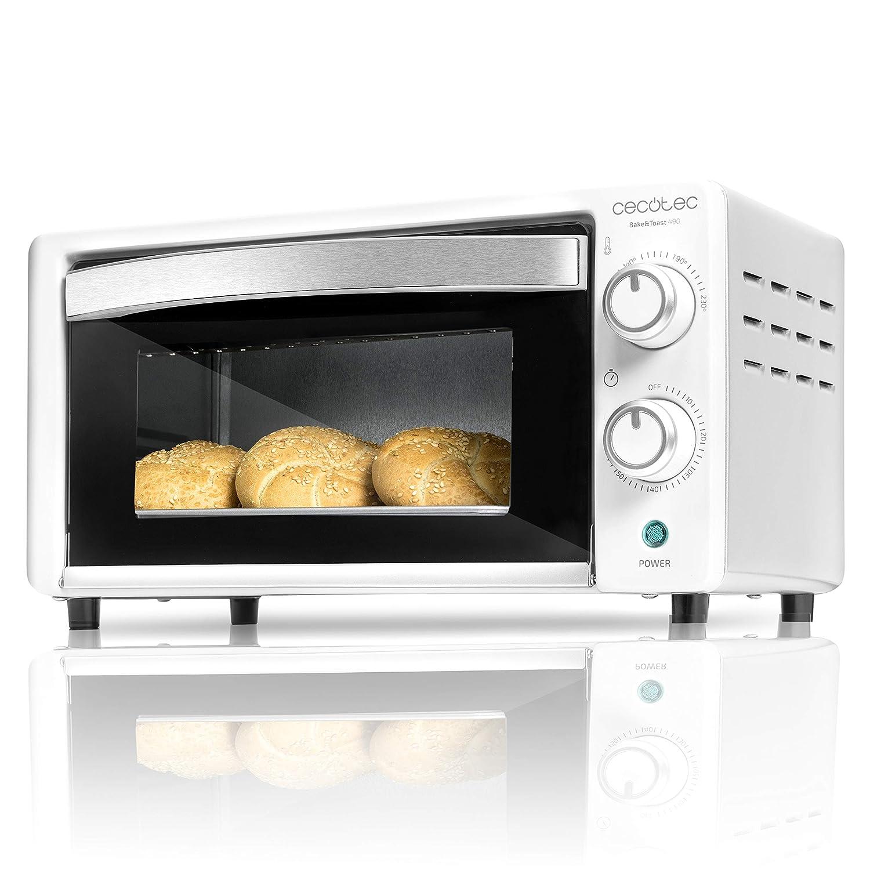 Cecotec Horno Conveccion Sobremesa Bake&Toast 490. Capacidad de 10 ...