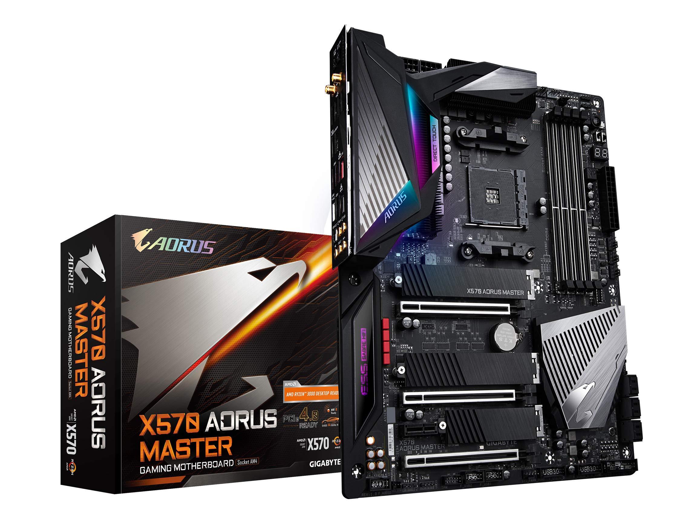 Gigabyte X570 Aorus Master (amd Ryzen 3000/x570/atx/pcie4...