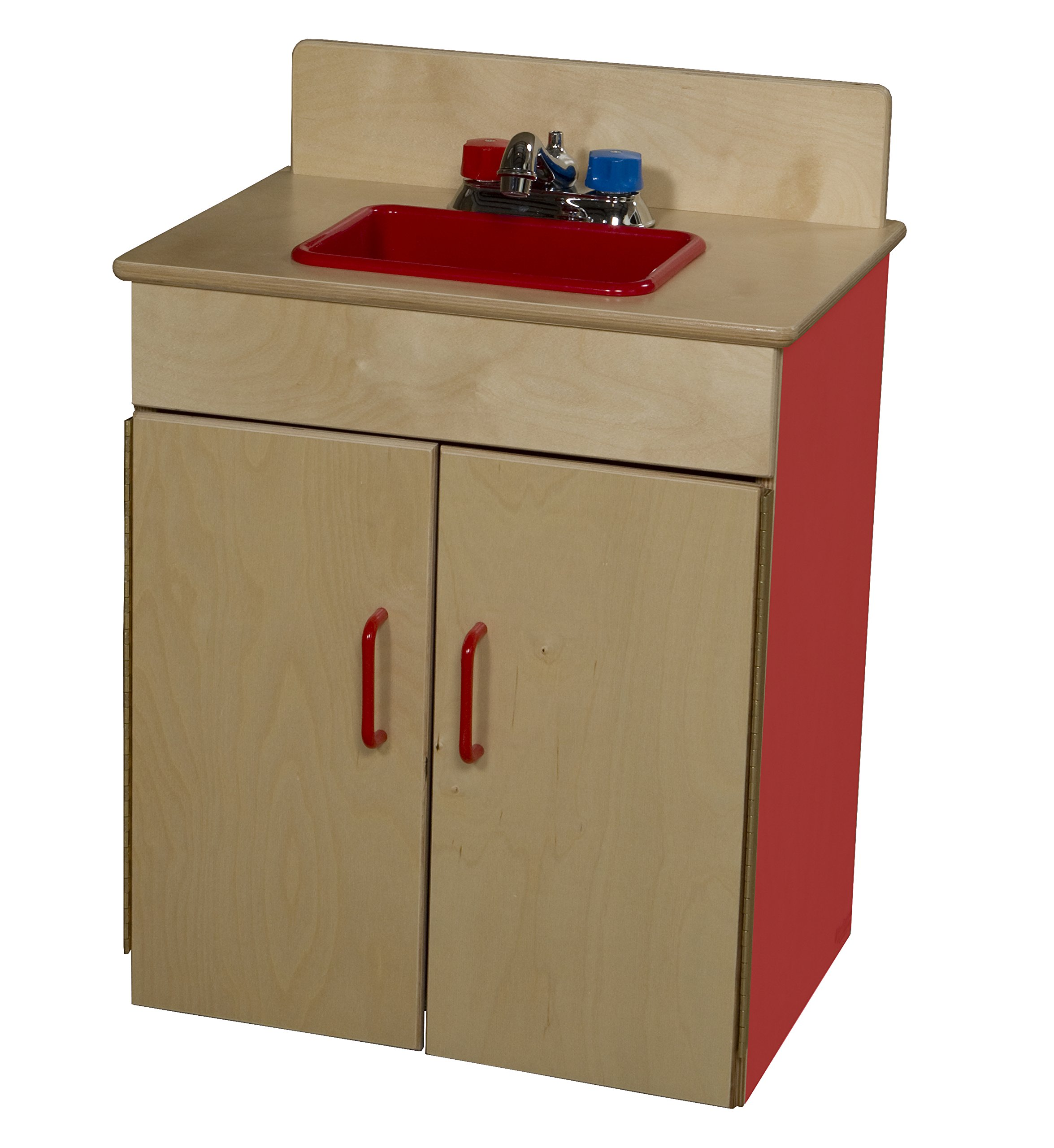 Wood Designs 10200R Strawberry Red Sink