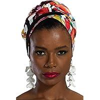 Bonnet for Women Instant Cotton Scarfs Two-Colored Head Wrap Muslim Turban Cap