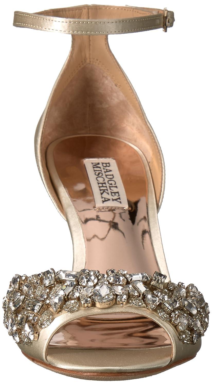 4d7e56d070b2fe Amazon.com  Badgley Mischka Women s Barbara Wedge Sandal  Shoes