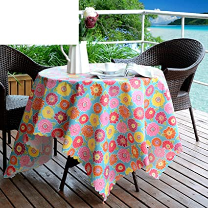 Amazoncom Water And Oil Proof Tableclothfabrics Rustic Dining - Oblong table pad