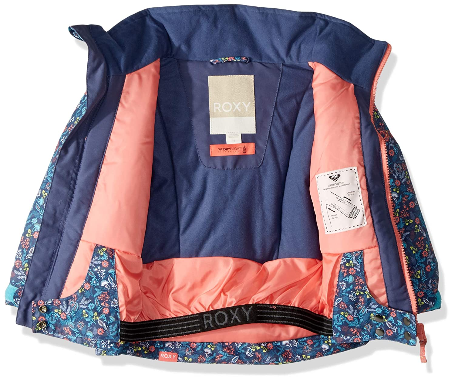 Roxy Girls Mini Jetty Snow Jacket