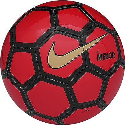 Nike Menor - Balón de fútbol, Color Rojo/Negro/Dorado, Talla Pro ...
