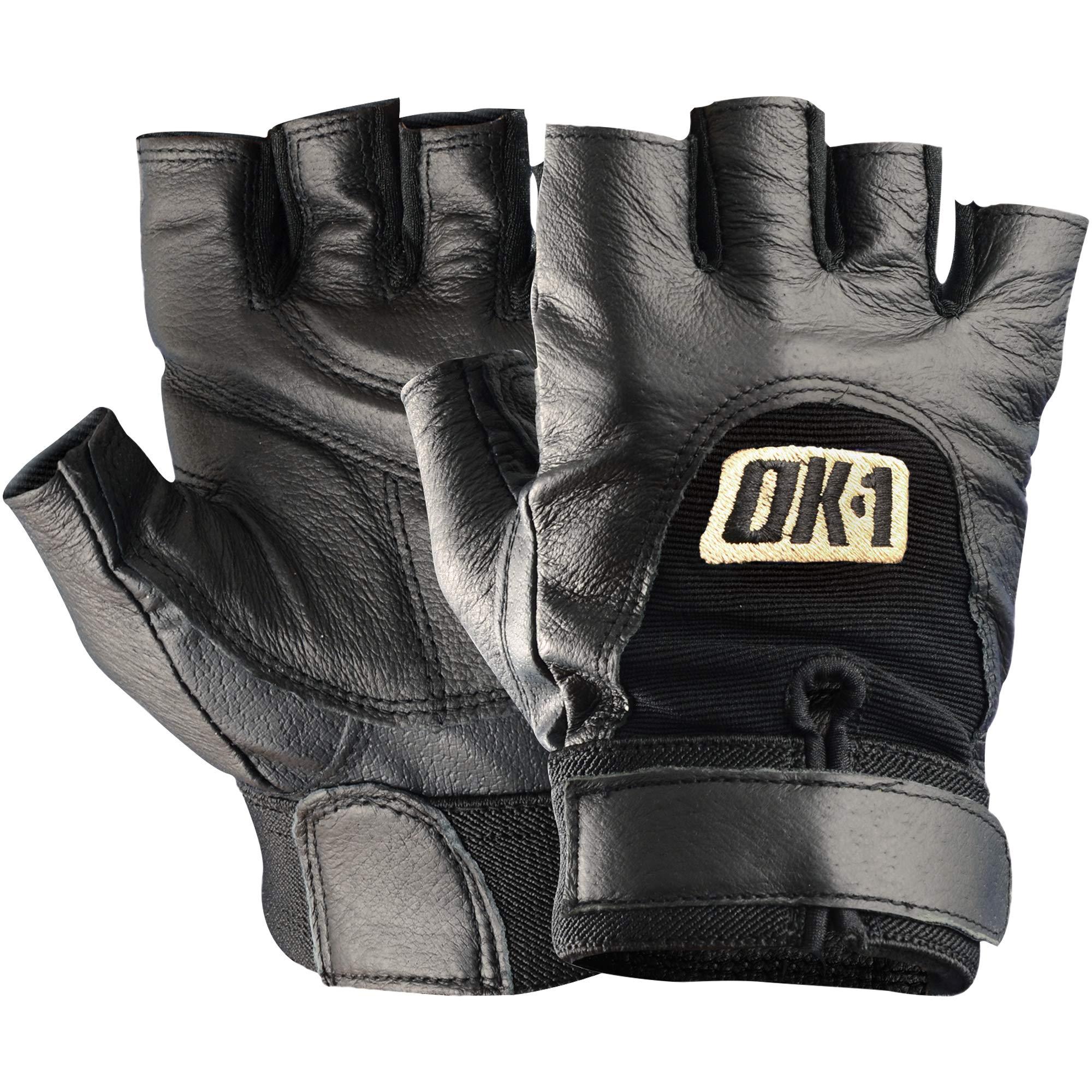 Boxes Fast BFGLV1027M Half-Finger Impact Gloves, Medium, Black (Pack of 2 Pairs)