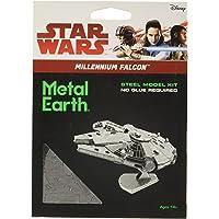 Star Wars-Maqueta de Metal 3D Halcón Milenario, Color