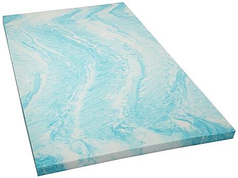 amazon memory foam topper Amazon.com: Linenspa 3 Inch Gel Swirl Memory Foam Topper   Full  amazon memory foam topper