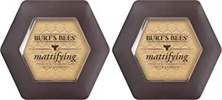 product image for Burts Bees 100% Natural Mattifying Powder Foundation, Sand - 0.3 Ounce (Pack of 2)