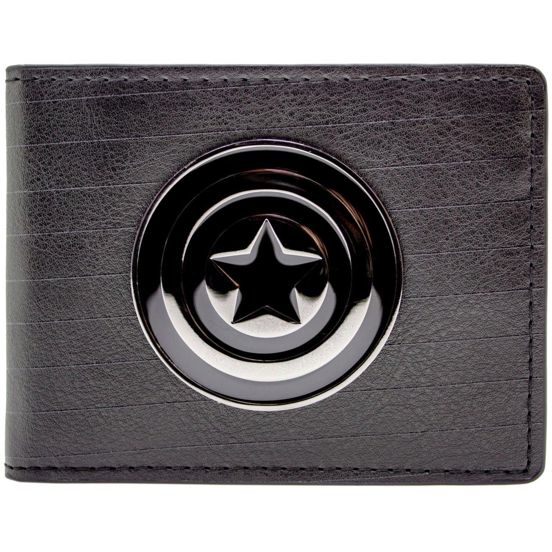 Marvel Captain America Symbole Noir Portefeuille 27460