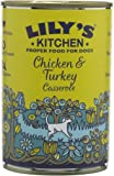 Lily's Kitchen Homestyle Chicken and Turkey Casserole for dogs 400g (Pack of 6)