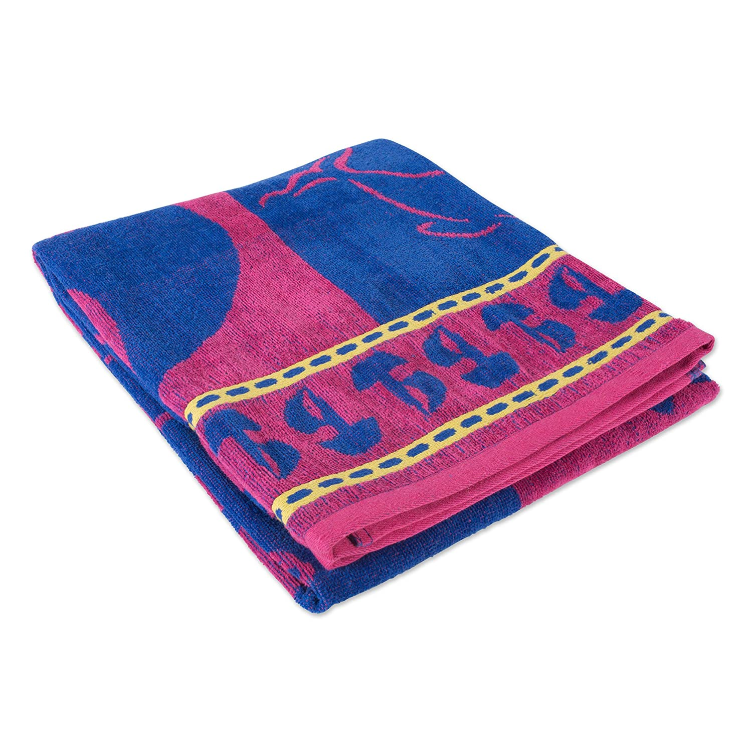 Beach and Spa-Blue//Pink Sea J/&M Home Fashions Fashion Colorful Beach Towel Soft Absorbent and Dry Fast for Swimming Pool 36x64