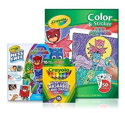 Crayola PJ Masks Color & Sticker Gift Set