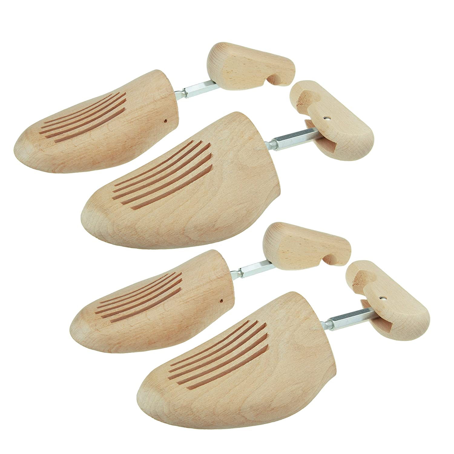 Max No. 3 Premium shoe trees out of beech wood, by MTS shoecare (Set 2 pairs), made in Germany
