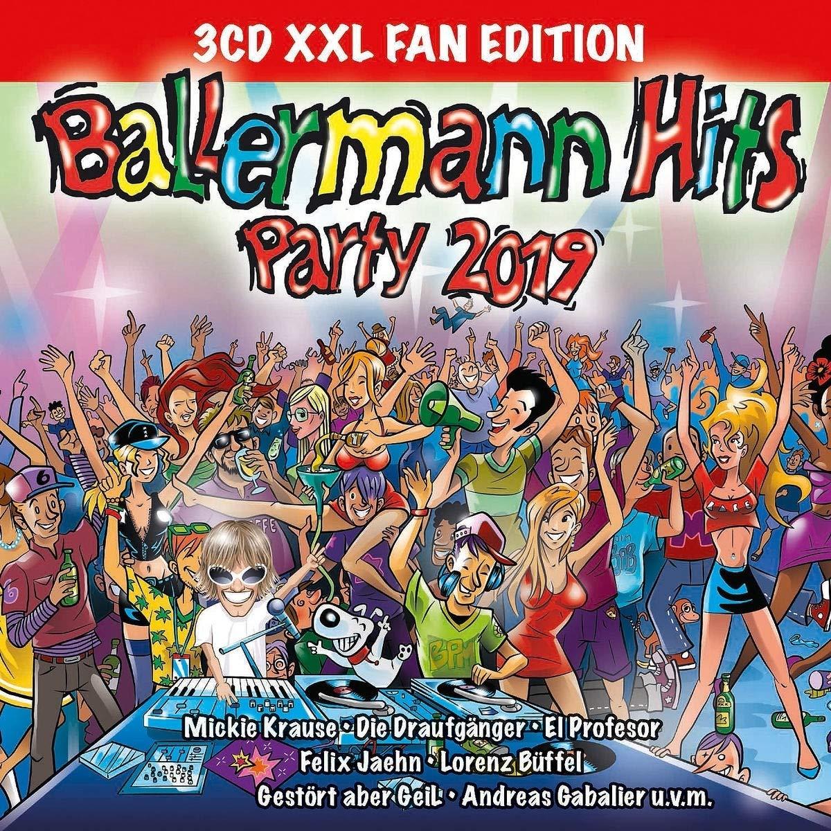 Ballermann Hits Party 2019 Xxl Fan Edition Various Amazonde Musik