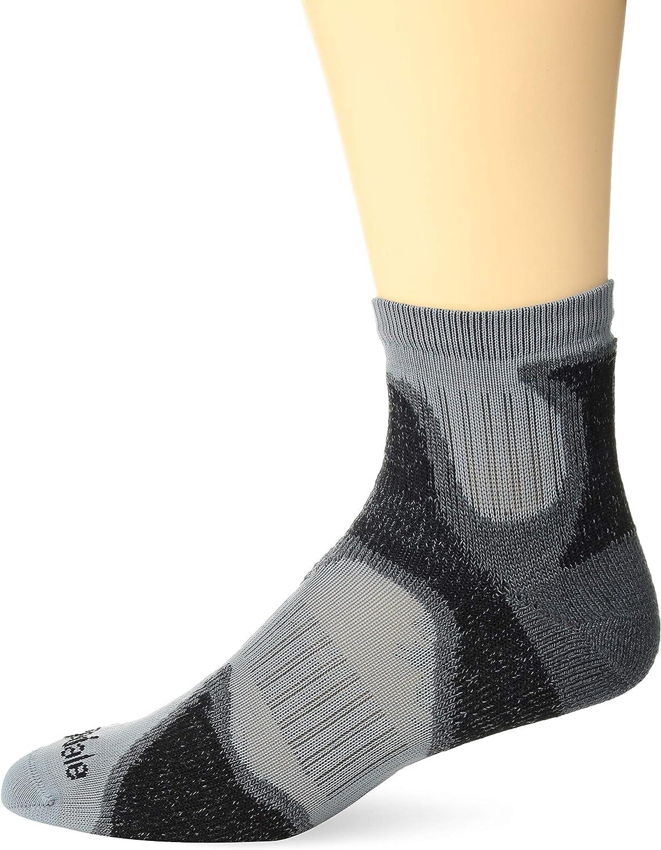 Bridgedale Mens TRAIL Socks Lightweight T2 3//4 Crew Merino Cool Comfort Blue