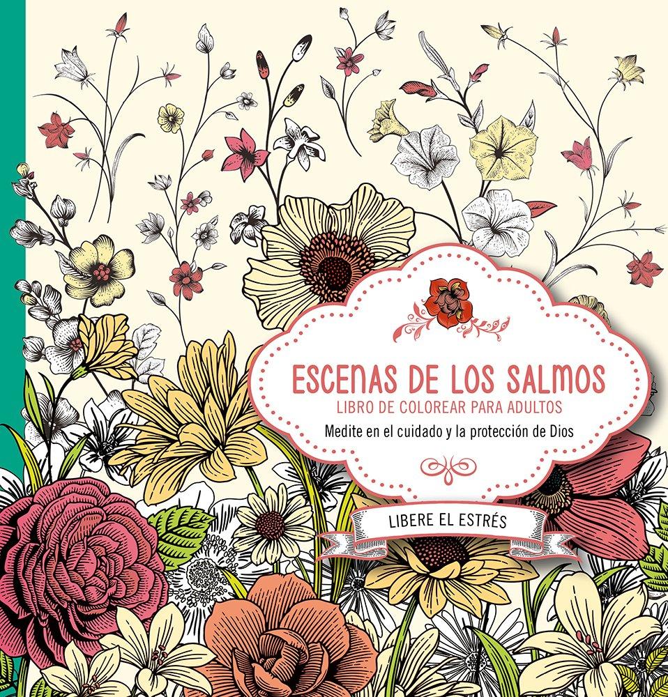 Amazon.com: Escenas de los Salmos: Libro de colorear para adultos ...