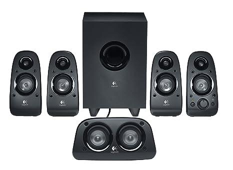 Logitech Z506 5 1 Channel Surround Sound Multimedia Speakers (Black)
