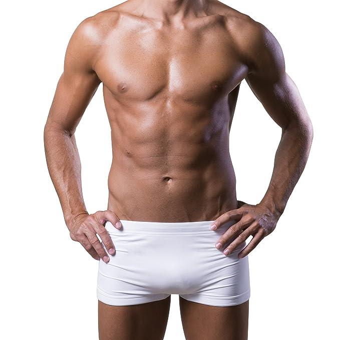 1a020a3b39e1 Dr.Walt Boxer Uomo Aderente Senza Cuciture Superconfortevole, Pelle Sempre  Asciutta, No Stiro
