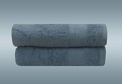 Westlane Toalla de baño de algodón Egipcio de Lujo, 70 x 130 cm, Supersuave