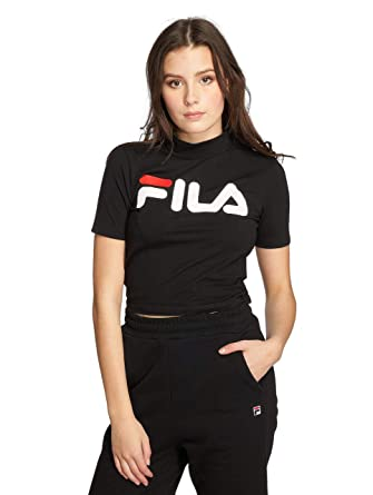 Fila Damen T-Shirts Urban Line Every Turtle schwarz XL: Amazon.de ...