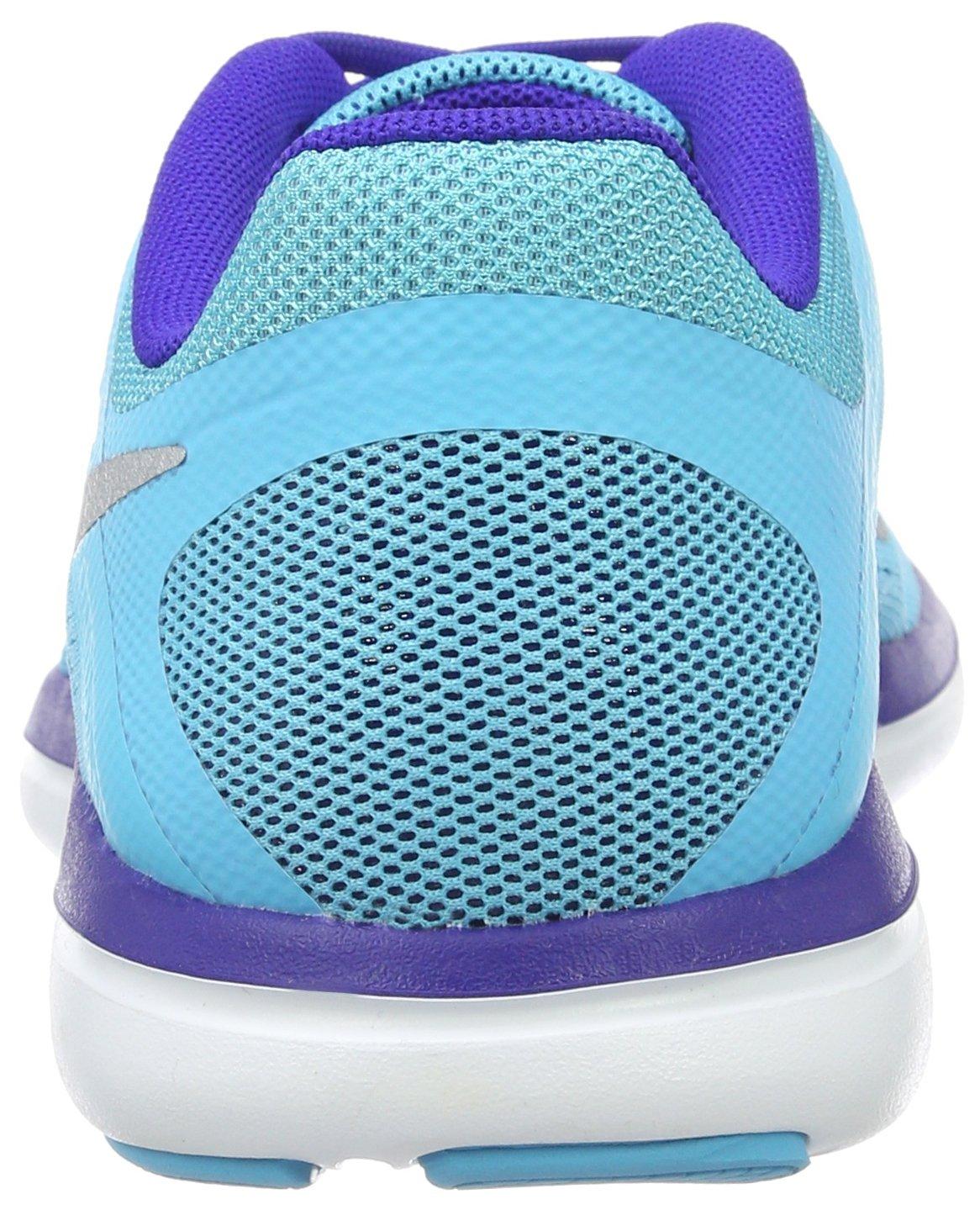NIKE Women's Flex 2016 Rn Running Shoes B005OB747M Silver/Concord 10 B(M) US Gamma Blue/Metallic Silver/Concord B005OB747M bf0e1b