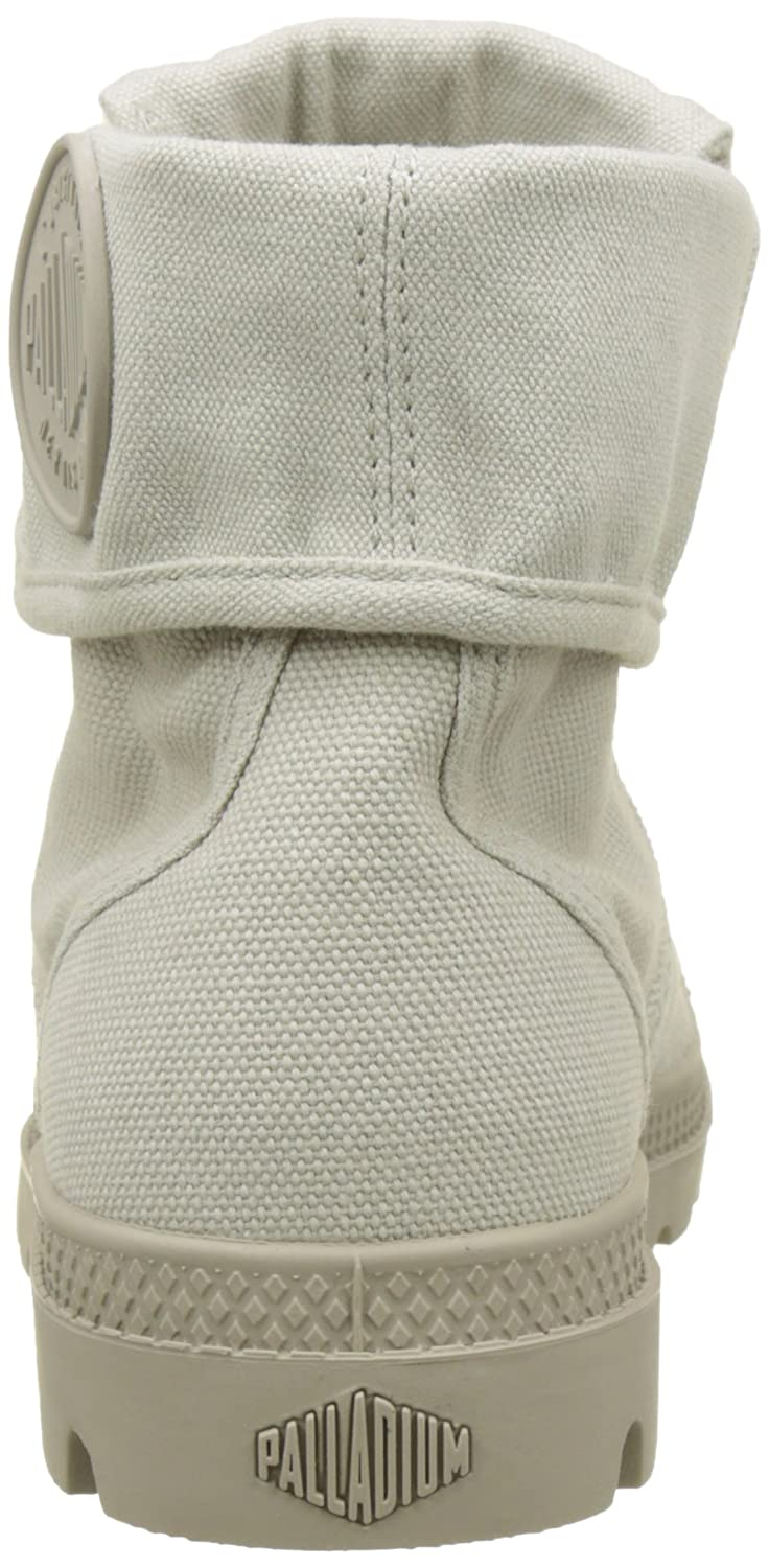 Palladium Womens Pallabrouse Baggy Canvas Boots B078WC46X6 8.5 B(M) US|Grey (Rainy Day/String K82)