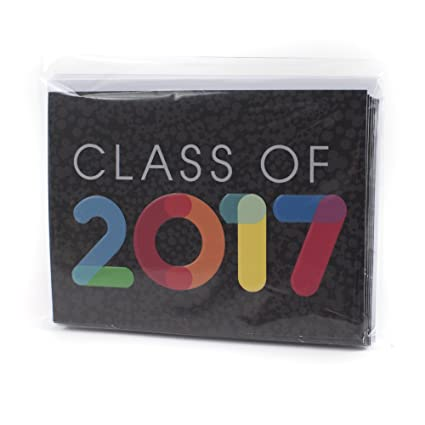 amazon com hallmark graduation party invitations class of 2017