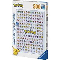 Ravensburger 14781 Pokemon Pokémon Pokédex 1:a generationen 500 bitar pussel, annat, Norme