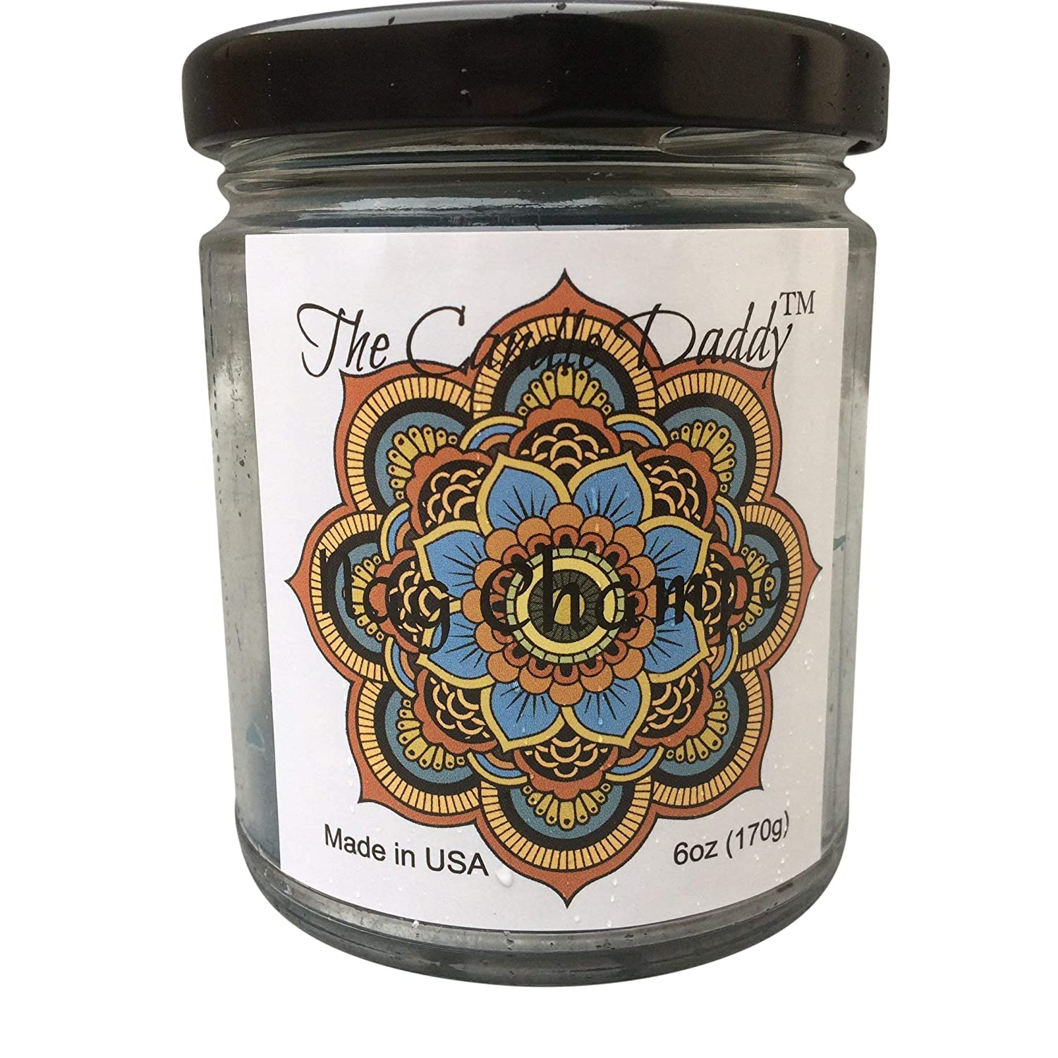 4d3cfa90f2e1 Nag Champa Scented Candle - 6 Ounce Jar Candle- Hand Poured in Indiana