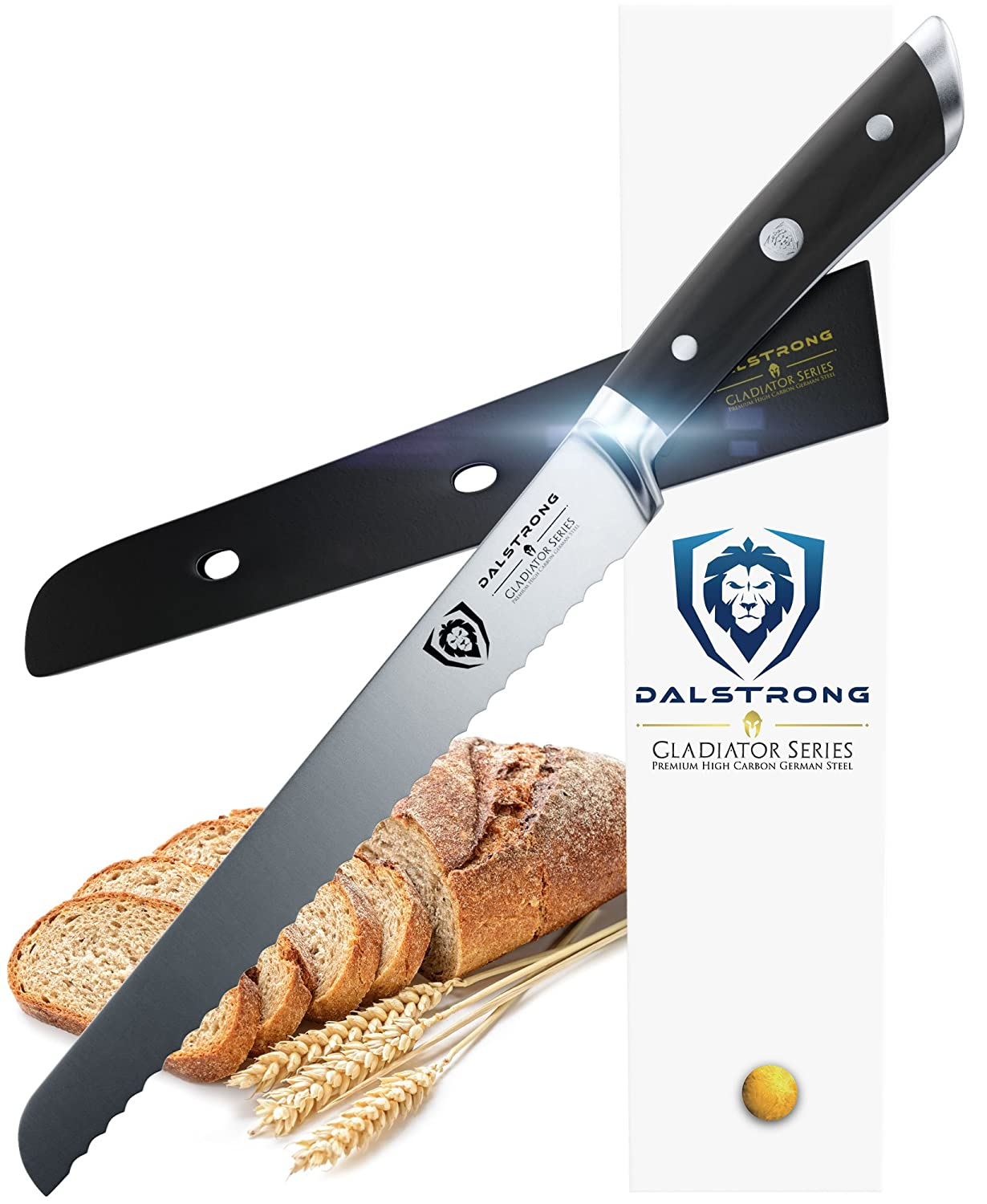 Amazon.com: DALSTRONG Bread Knife - Gladiator Series - German HC ...