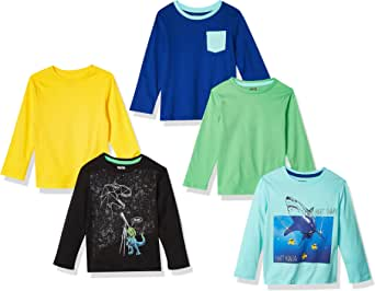Spotted Zebra Camisetas de Manga Larga Niños