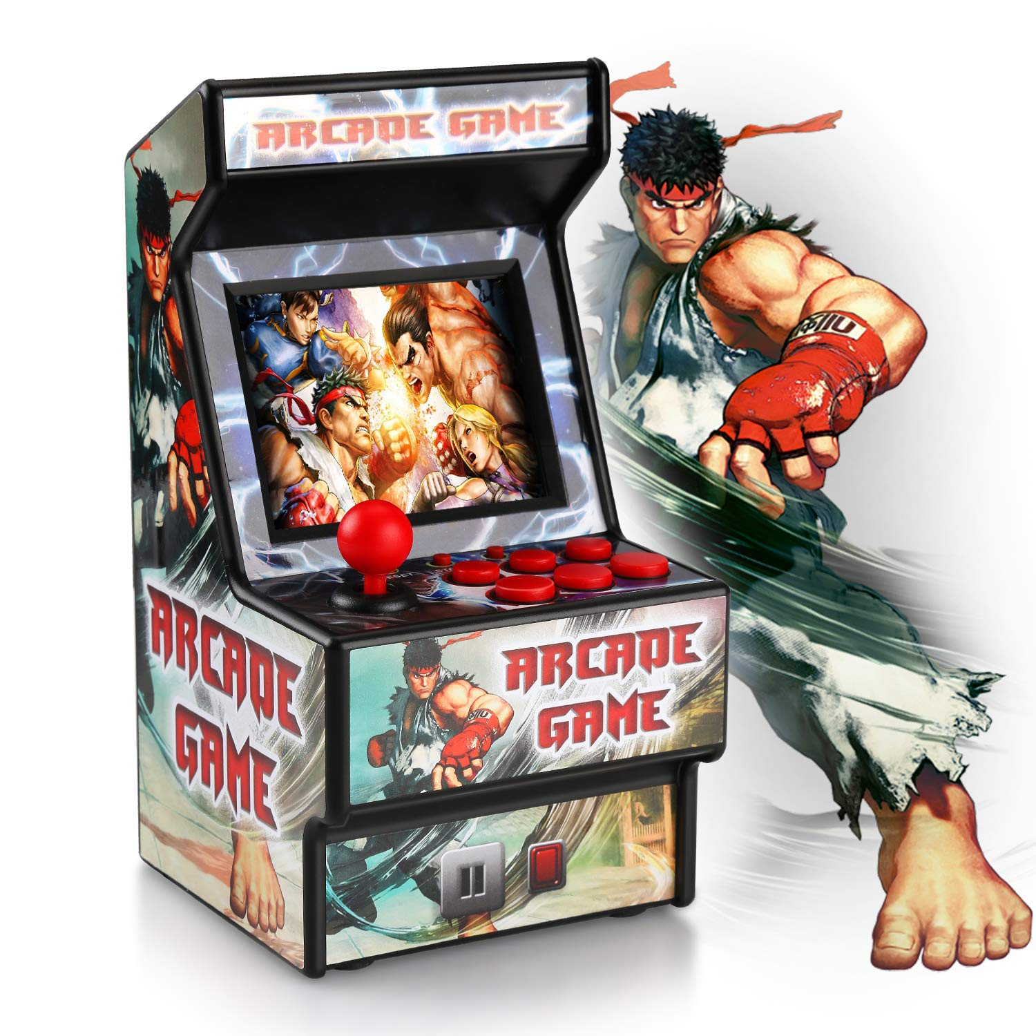 Golden Security Classic Portable Arcade Machine 156 Built-in 16 bits Games