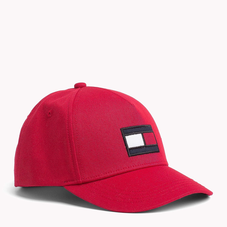 Tommy Hilfiger Big Flag Cap, Casquette Mixte bébé Casquette Mixte bébé Rouge (Apple Red 664) Small (Taille Fabricant: S-M) AU0AU00378