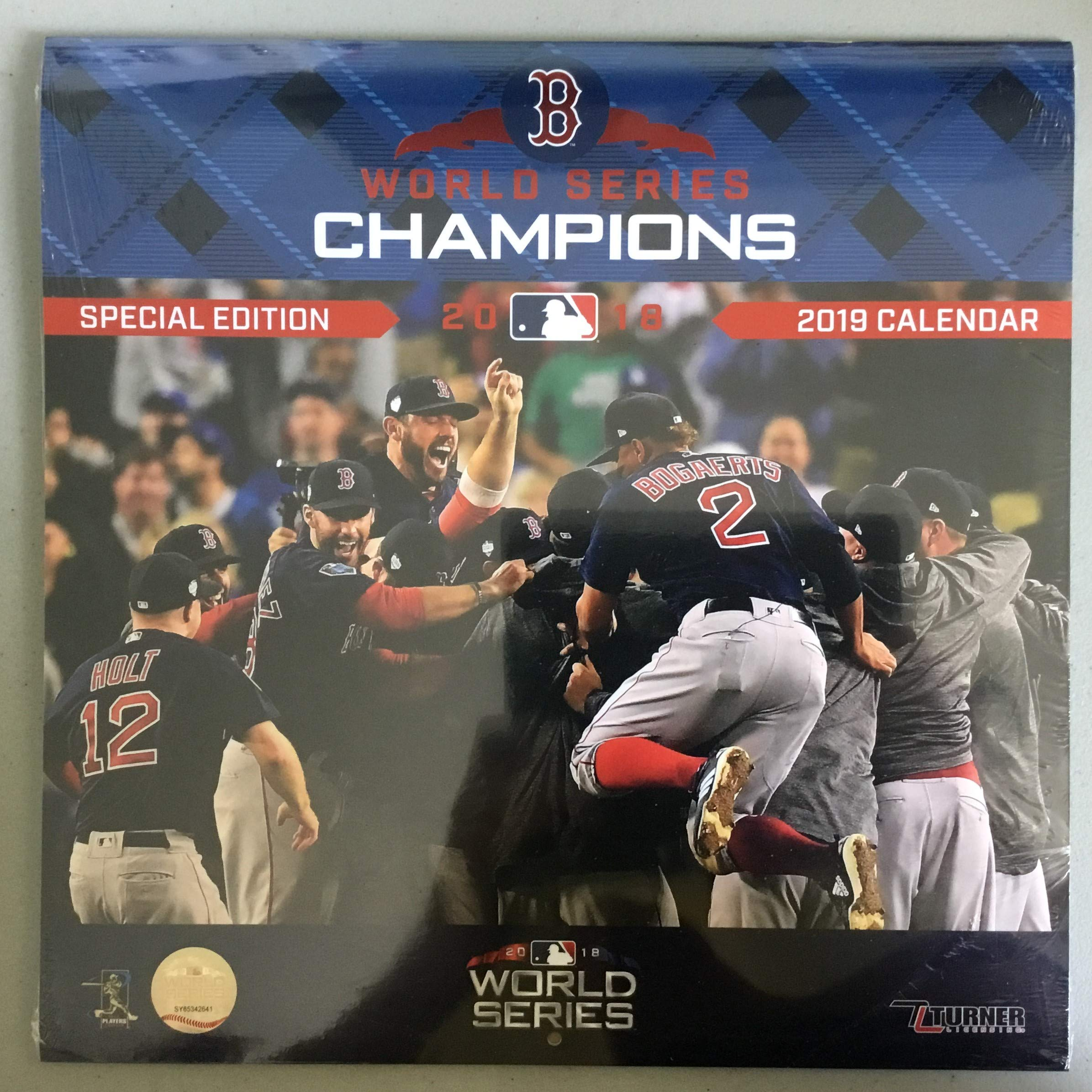 Boston Red Sox 2020 Calendar Boston Red Sox World Series Champions 2020 Calendar: Inc. Lang