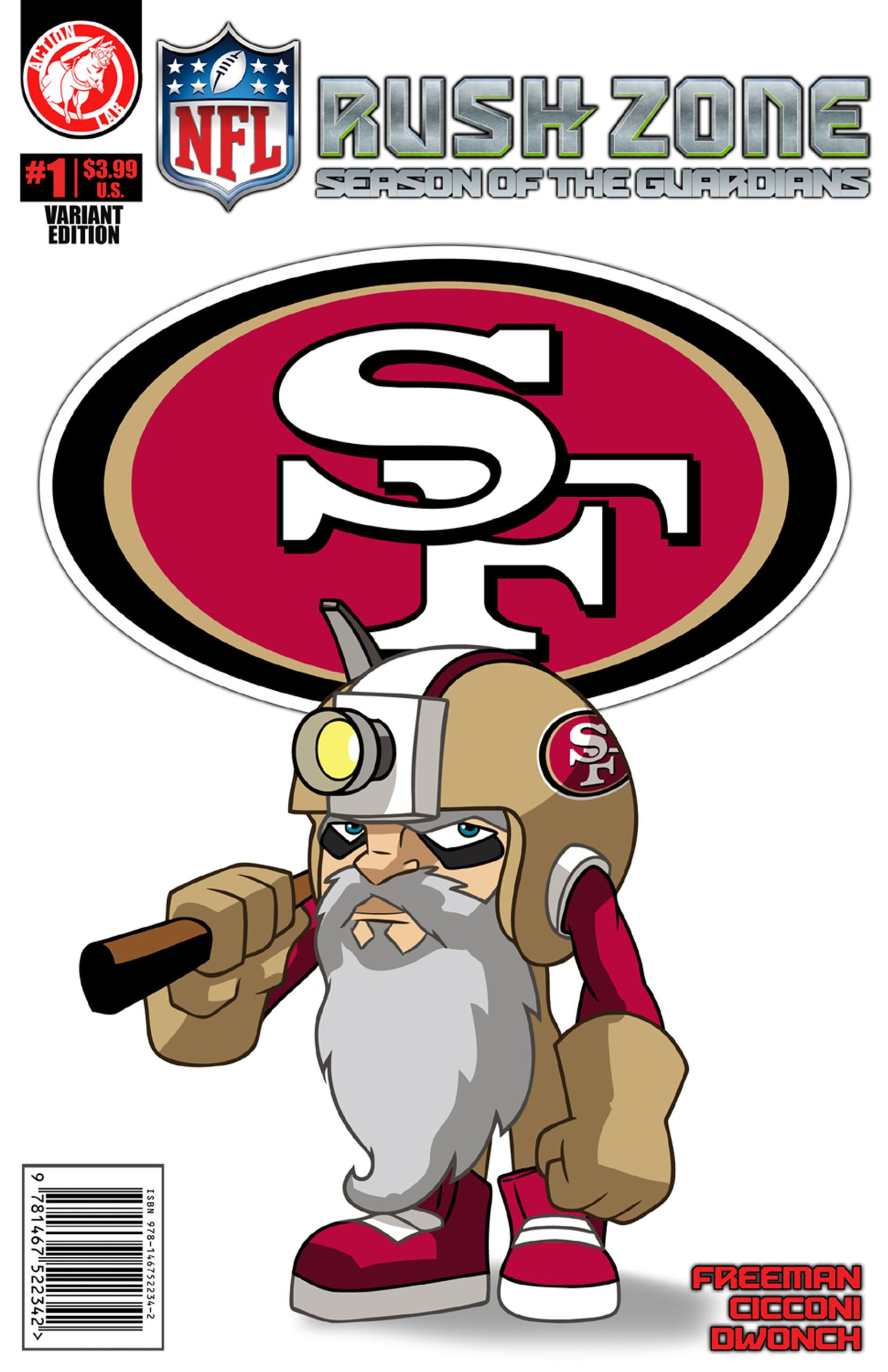 Nfl Rush Zone Season Of The Guardians 1 San Francisco 49ers