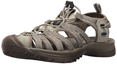 Keen Women s Whisper-W Sandal Agate Grey Blue Opal 5 ...