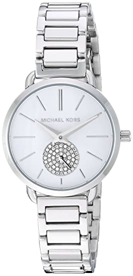 0b4447bf7d07c Michael Kors Women s Analogue Quartz Watch with Stainless Steel Strap  MK3837  Amazon.co.uk  Watches