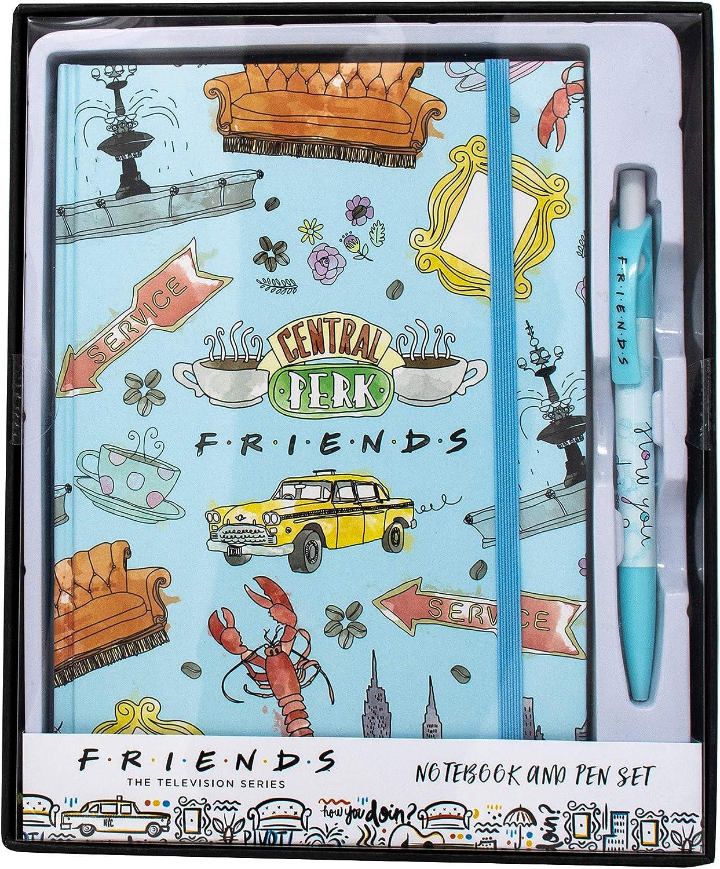 Juego de regalo de cuaderno y bolígrafo Friends: Amazon.es ...