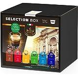 SanSiro Kaffee Selection Box No. 3, % Spar-Angebot: 100 Kapseln, Cafissimo/Tchibo, Expressi und Caffitaly, kompatibel, 1er Pack (1 x 700 g)