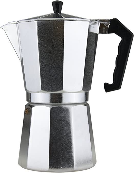 Apollo 7798 - Cafetera Italiana de Aluminio (12 Tazas, 700 ml ...