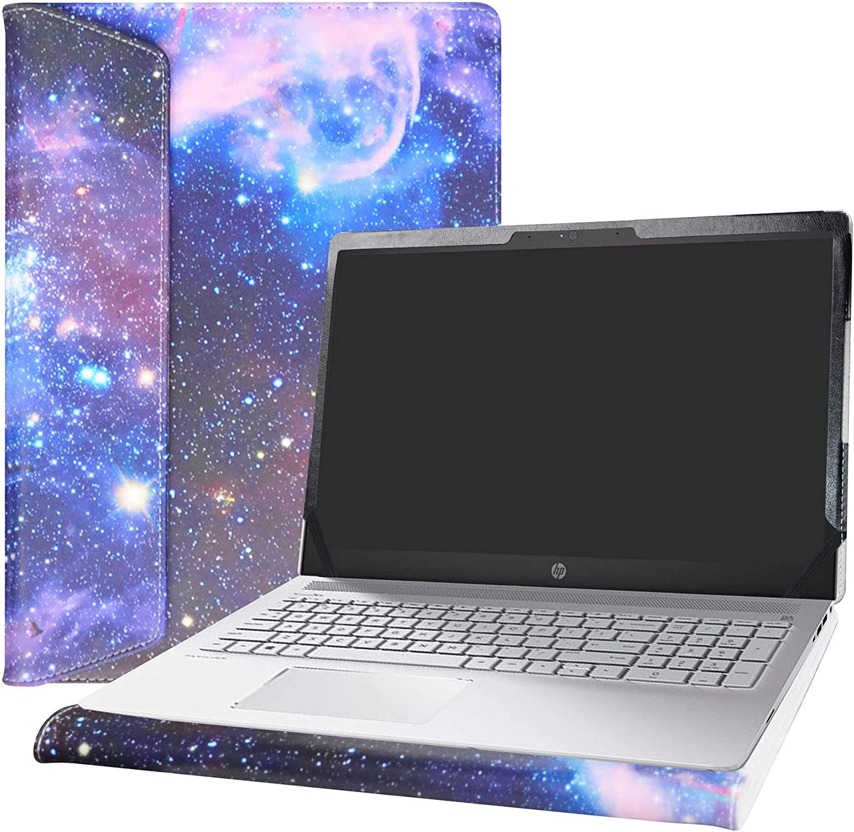 """Alapmk Protective Case for 15.6"""" HP Pavilion 15 15-csXXXX 15-cwXXXX & Acer Aspire 5 15 A515-52 A515-43 & Dell Latitude 3510 Laptop[Not fit Pavilion 15 15-cuXXX 15-ccXXX/Aspire 5 A515-54],Galaxy"""
