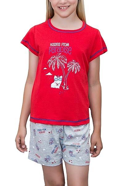 Pijama de Niña (rojo, 10)