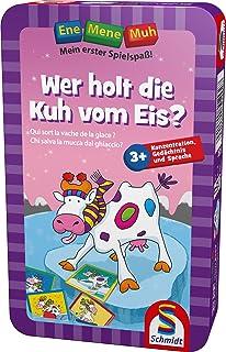 Schmidt Spiele 51292–Gioco da Tavolo Ene Mene MUH, Wer Holt Die Kuh vom EIS? [Lingua Tedesca]