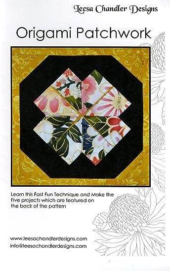 Amazon.com: Leesa Chandler diseños lc100var Origami Patrón ...
