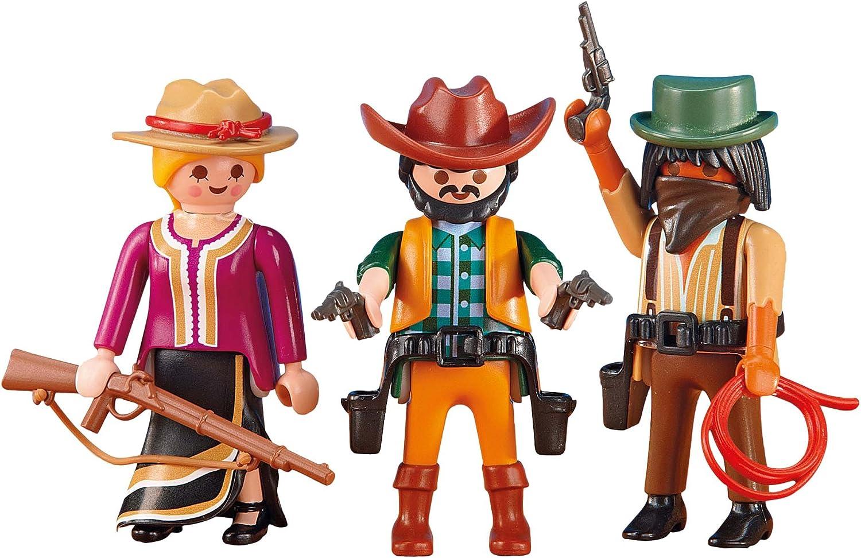 6572 Playmobil Lot de 2 Foulards Noirs de Cowboy